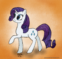 Rarity (colored) by kemono666