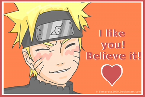 Valentines Day Card : Naruto by Sorceress2000