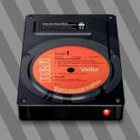 Vinyl Hard Drive by CitizenJustin