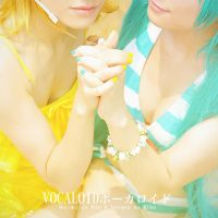 Vocaloid-Rin and miku 2 by bai917