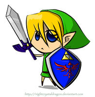 Chibi Link by NightCrystalDragon