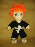 Ichigo Plushie_ Full Scene by renealexa
