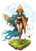 sorceress by Byam