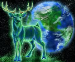 Cervus - God of Earth by GoldenPhoenix100