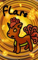 Flare the Vulpix by slasher360