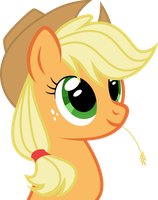 Apple Jack bust by FoxTail8000