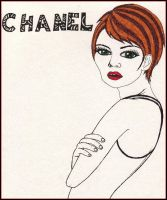 Chanel by psychedelicurchin