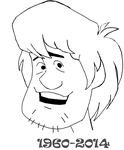 In Memoriam Shaggy - Scooby Doo by AesopDoodler