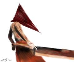 pyramid head before BG by Betsu-Myah