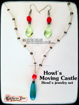 Howl's Moving Castle jewelry set by LoKiRaseNgAn