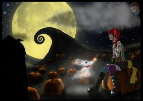 Sally (The Nightmare Before Christmas) by KamArts