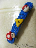 Nintendo Hair Clip by shadowqueen16