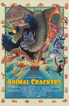 Animal  Crackers Poster by ssava