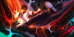 ~ Cly - LoL - Lee Sin - Smudge Tag ~ by dachivale