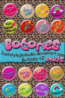 pack_BOtones by juststyleJByKUDAI