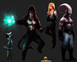 DBZ/GT Randomness by AbelVera