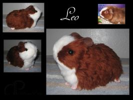 Custom Plushie: Leo by Morumoto