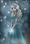 Elsa's Frozen Tears by Cor104