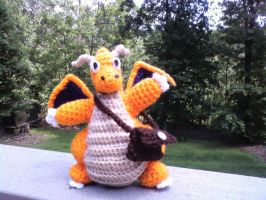 Dragonite PokeMail Delivery! by Psychodelicon
