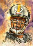 Pitt. Steelers James Harrison by JohnHaunLE