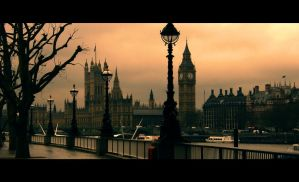 London in Dusk by JaneXxX