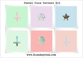 Pastel Punk Pattern Kit by iCatchUrDream