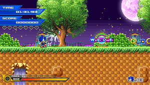 (Sonic vs Darkness TNR) Nightlite Paradise Mockup by Kainoso