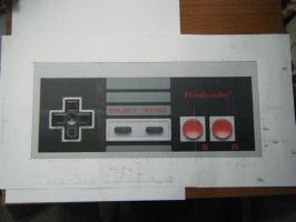 NES Controller Project 1 by devastator006