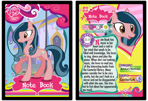 Note Book My Little Pony Trading Card by Shira-Yuri