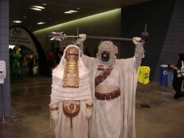 Sand people cosplay by Robot001