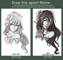Meme: Before and After Lilith by luzhikari