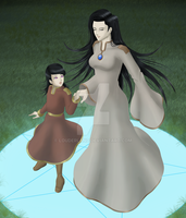 Luna and Milena, new version by Louderland