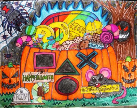 HAPPY HALLOWEEN PROJECT AXIS AND EVERYBODY by KambalPinoy