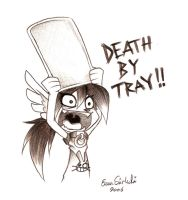 Death By Tray by ZombiDJ