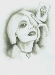 Harley Quinn - Traditional by Pencil--Pony