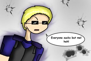Everybody Sucks But Wesker by AKA-SilverPoison