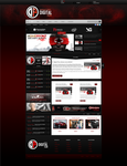 Digital Flow esports website by KillerDesigns11