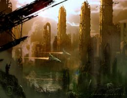 Industrial End by prolificlifeforms