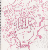 Hand in Vines by artloverrsnp