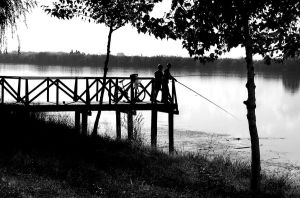 Monocolor fishing by bodrisebastian