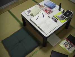 My new drawing table by ACGalaga