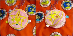 Zipper Pouch: Sailor Moon Brooch by Serenity-Sama