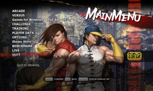 SSF4 AE Twins Menu by Augh