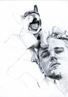 Leonardo DiCaprio WIP Ballpoint Pen by AngelinaBenedetti