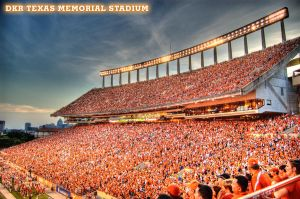 Texas Memorial Stadium HDR by nat1874