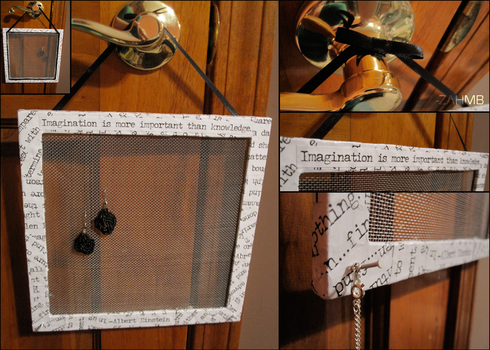 Quote Earring Holder by ZAHMB