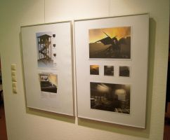 my pictures in an art gallery2 by DennisH2010