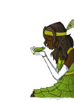 Frog Princess - WIP by wallower