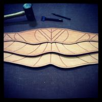 assassins creed altair's belt wip by MerrillsLeather