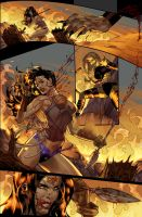 Unpublished Wonder Woman pg 9 by DrewEdwardJohnson